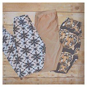 High Waist - Soft/Stretchy Leggings Bundle